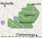 Our Tennessee Service Area